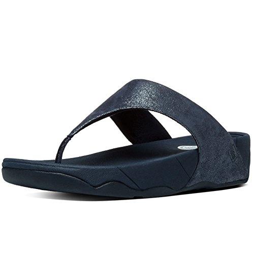 Fitflop Donna Lulu Tm Shimmersuede Supernavy Infradito  blu Size: 39