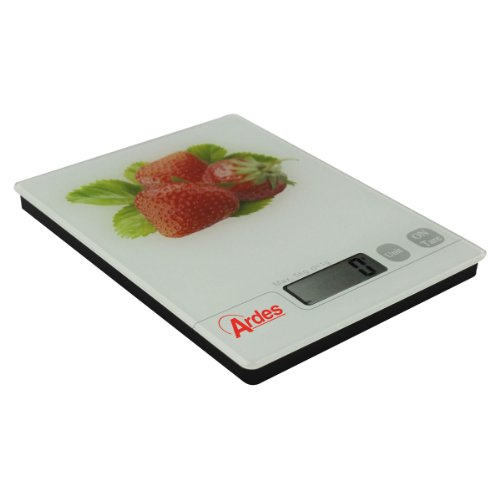 Bascula digital de cocina diseño Fresas. AR870. Ardes