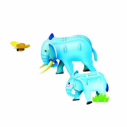 Scholas Jigsaw 3D Puzzle Koala Elephant