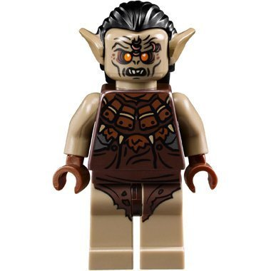 LEGO The Hobbit: Hunter Orc Minifigure (Lord of the Rings) - 1