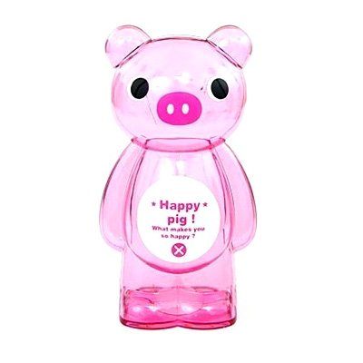 Clear Coin Bank Clear Happy Pig Piggy Bank