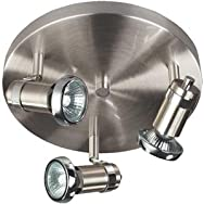 Home Impressions Shay Track Lighting Fixture-SHAY CEIL/WALL 3-LIGHT