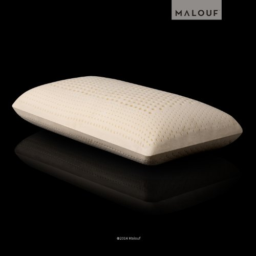 Sleeper Pillow Z By Malouf 100 Natural Talalay Latex Zoned
