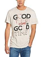 Pepe Jeans London Camiseta Manga Corta Martin (Gris Claro)