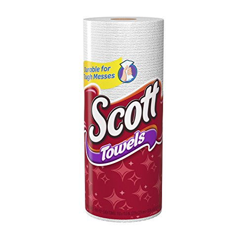 Scott Paper Towels: Scott Paper Towels, Choose-A-Sheet Regular Roll, 30 Count