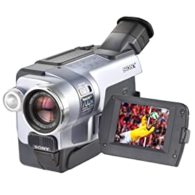 "Sony DCRTRV250 Digital8 Camcorder with 2.5"" LCD, USB Streaming and Remote"