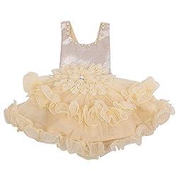 Yashasvi Baby Girl's Classy Cotton Dress
