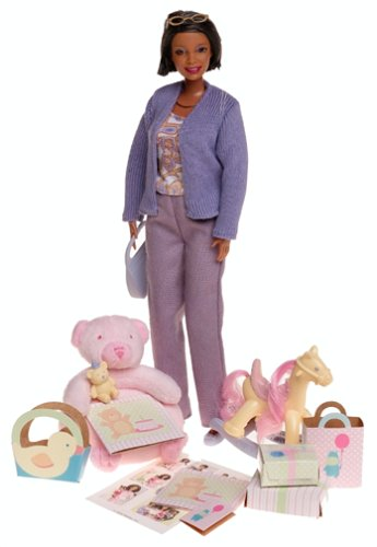 41ME9EEKJCL Cheap Price Mattel   Happy Family Grandma Doll ~ African American