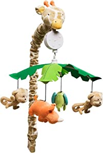 Carter's Wildlife Musical Mobile, Beige