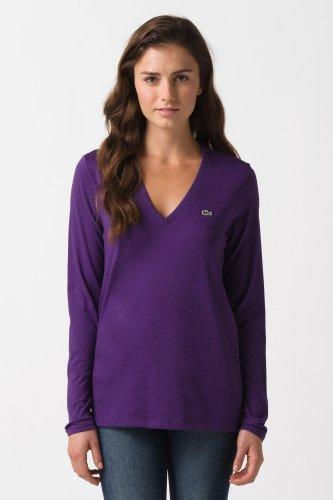 Long Sleeve Jersey V-Neck T-Shirt