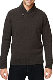 Shawl Neck Knitted Jumper [T30-4024M-S]