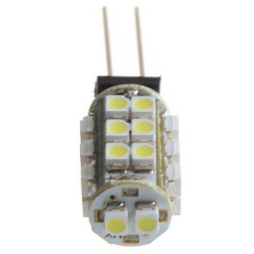 TOOGOO (R)2pcs G4 26 weiss SMD LED 1210 Licht Auto Lampe Birne DC-12V