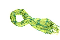 Sweet Lemon Lime Fashion Scarf