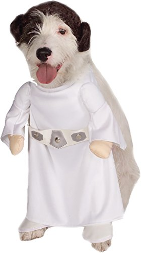 Star Wars Princess Leia Dog Costume | (Small) - Star Wars Princess Leia Dog Costumeincludes: Jumpsuit With Attached Arms And Princess Leia Character Headpiece/Wig. This Is An Officially Licensed Star