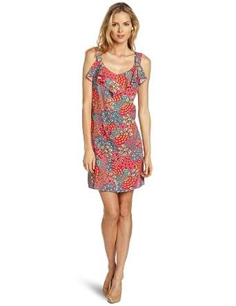 Tiana B Women's Summer Splendor Dress, Pink/Multi, 10 at