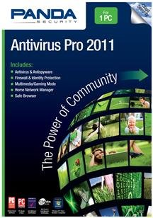 Panda Antivirus Pro 2011 1-PC- Soft Pack