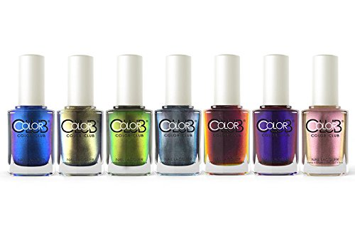 Color-Club-Oil-Slick-Collection-Fall-2015-Nail-Lacquer-Set-of-7-Colors