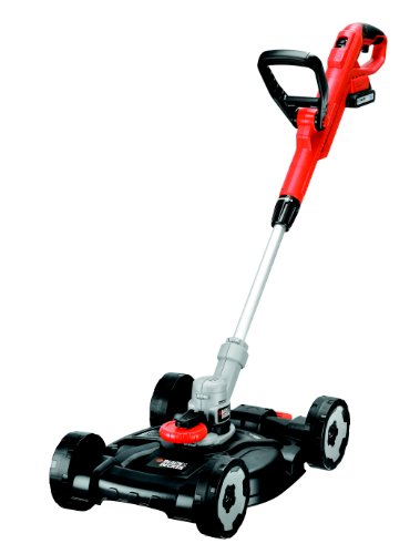 BLACK+DECKER STC1820CM-GB 18V Lithium Strimmer with Lawm Mower Deck Attachment
