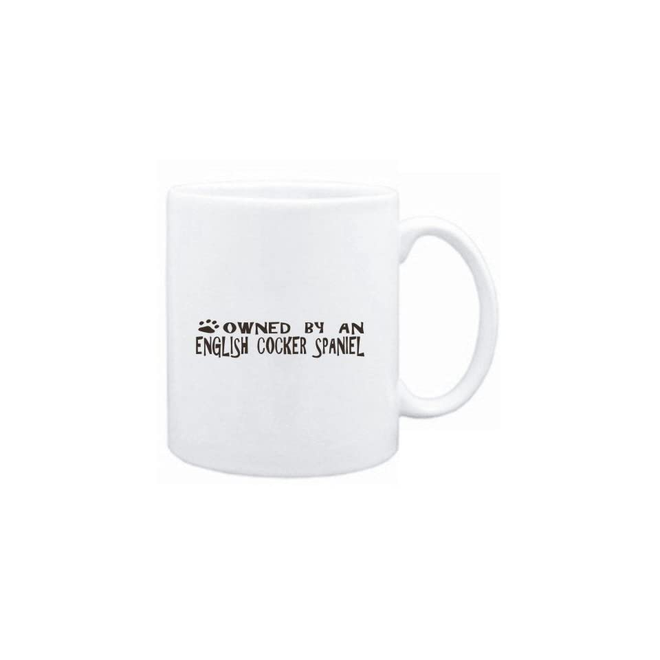 Mug White  OWNED BY English Cocker Spaniel  Dogs