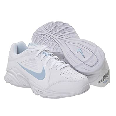 Nike View III Women's Walking Shoes 6.5 B - Medium, White/Pale Blue