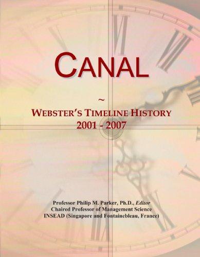Canal: Webster's Timeline History, 2001 - 2007