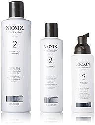 Nioxin System 2 Starter Kit Cleanser,…