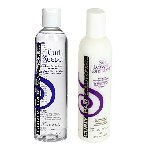 Curly Hair Solutions Curl Keeper Silk Leave In