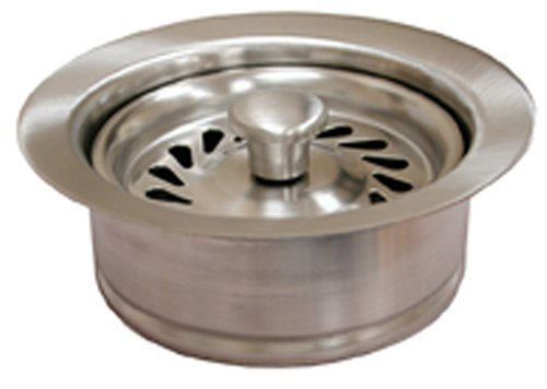 Plumbest B03-408 Disposal Assembly for InSinkErator, Brushed Nickel