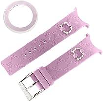 Gucci YFA50009 U-Play Kit Medium Mauve Rubber Watch Case