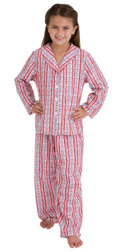 Tyrolean Pajamas for Girls