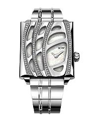 RSW Women's 6020.BS.S0.21.D1 Wonderland Stainless-Steel Mother-of-Pearl Diamond Bracelet Watch