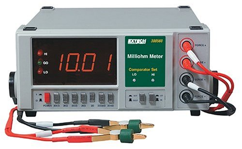 Extech 380560 High Resolution Precision Milliohm Meter