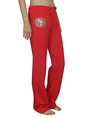 Pink Victoria's Secret Womens SAN FRANCISCO 49ERS Lounge / Pajama Pants