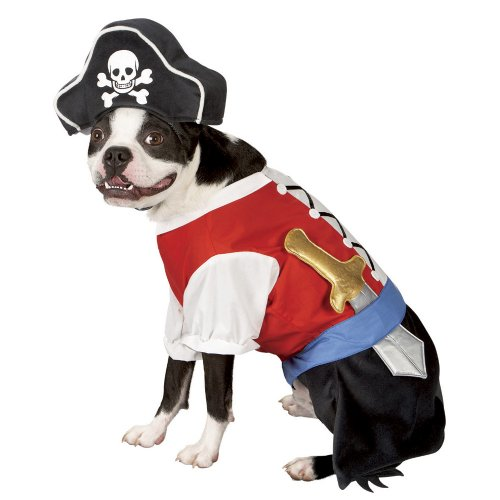 Pirate Pet Costume - X-Small