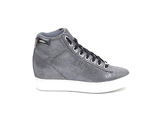 Sneaker Liu Jo donna, S66031, nabuk colore grigio nr 37 A6102