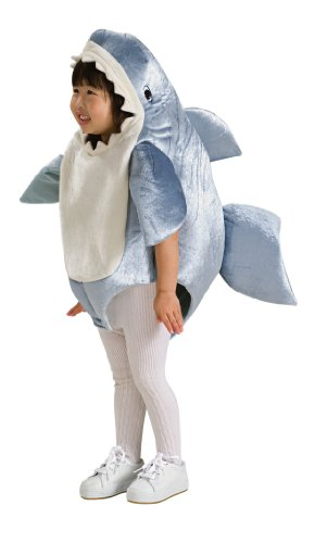 Rubie's Costume Co Unisex-Child Deluxe Shark Romper Costume 6-12 Months