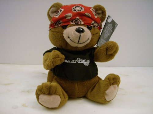 Harley-Davidson Bean Bag Plush Roamer the Bear
