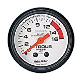 Auto Meter 5728 Phantom Mechanical Nitrous Pressure Gauge