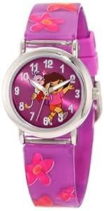 Nickelodeon Dora the Explorer Kids' DTE1064B Watch, Backpack, and Bracelet Gift Set