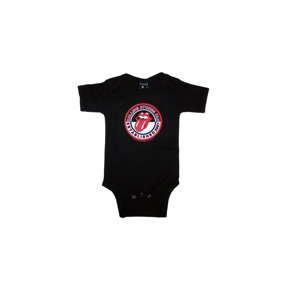 Toddler and Infant ROLLING STONES Fan One Piece Baby Suit