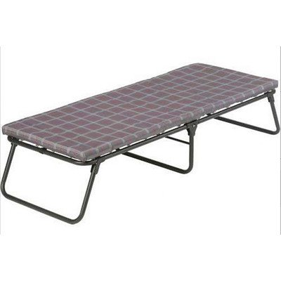 fortable Folding Cot Bed Camping Hiking Thick Foam