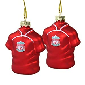 Liverpool Fc Shirt Baubles - Football Gifts from Official Football Merchandise