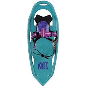 Atlas Snowshoes Girl's Mini Snowshoes, Turquoise/Plum, 17-Inch