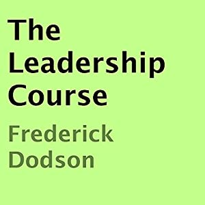 The Leadership Course Audiobook