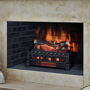Duraflame 20-Inch Infrared Electric Fireplace Insert/Log Set - DFI030ARU (Infrared Fireplace Insert compare prices)