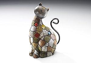 Décoration, chat de Polyresin