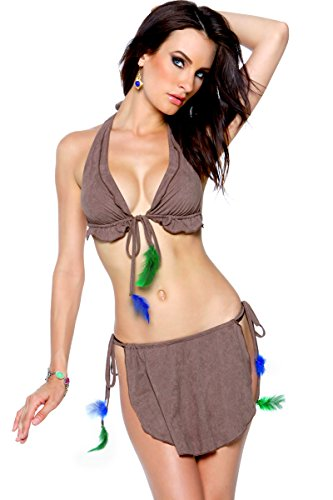 3WISHES Women's Sexiest Sedona Native American Indian Sexy Halloween Costume
