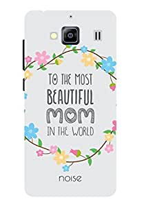 Noise Beautiful Mom Floral Printed Cover For Xiaomi redmi 2s