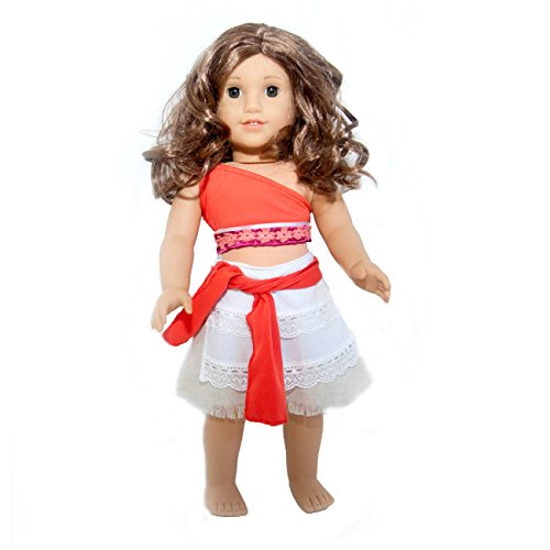 Princess Moana Doll Clothes