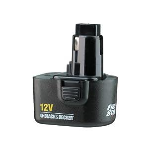 black decker a9275 batterie firestorm 12v import. Black Bedroom Furniture Sets. Home Design Ideas